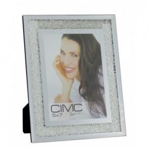 Glitz Crushed Crystal Photo Frame