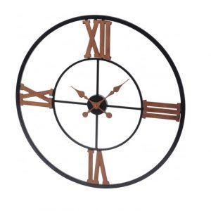 Black & Copper Wall Clock