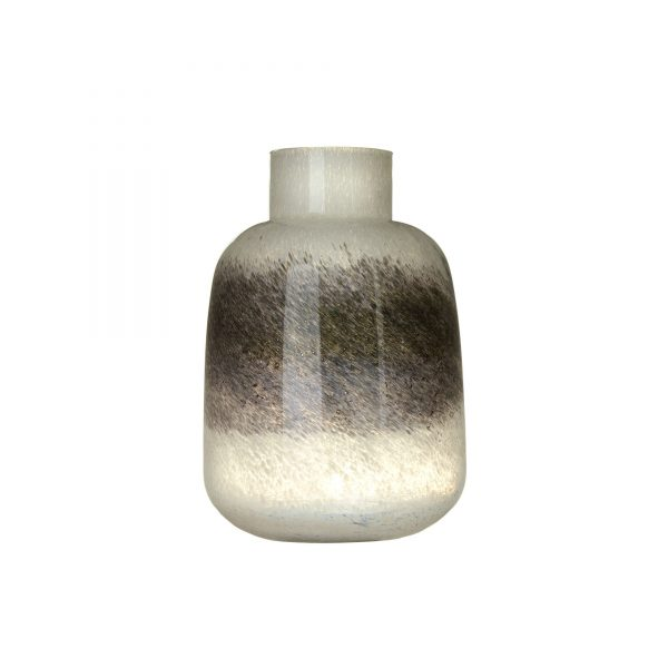 Voyage White & Grey Vase Small