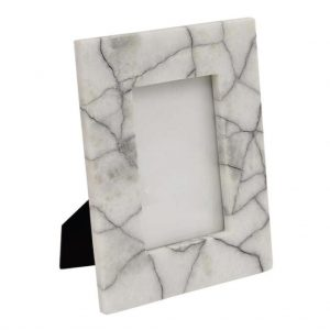 Black & White Marble Photograph Frame