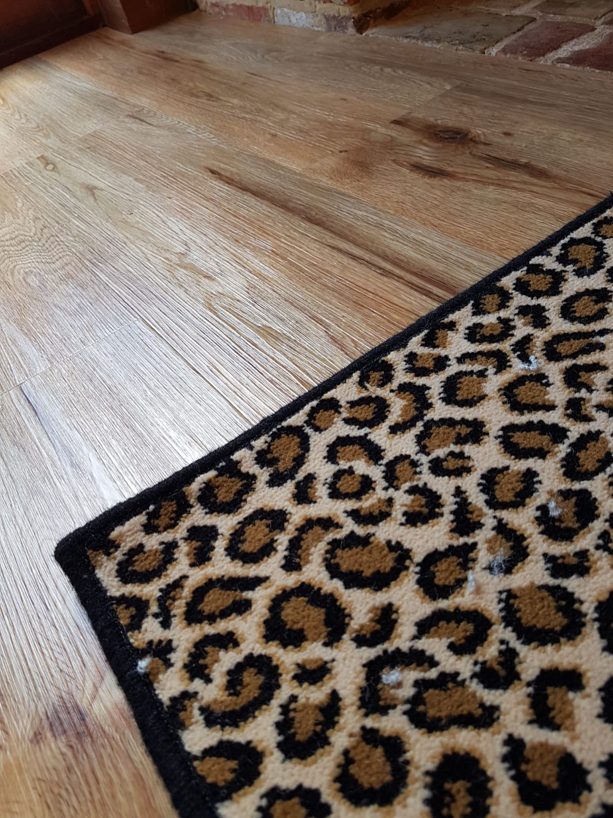 Custom Leopard Rug
