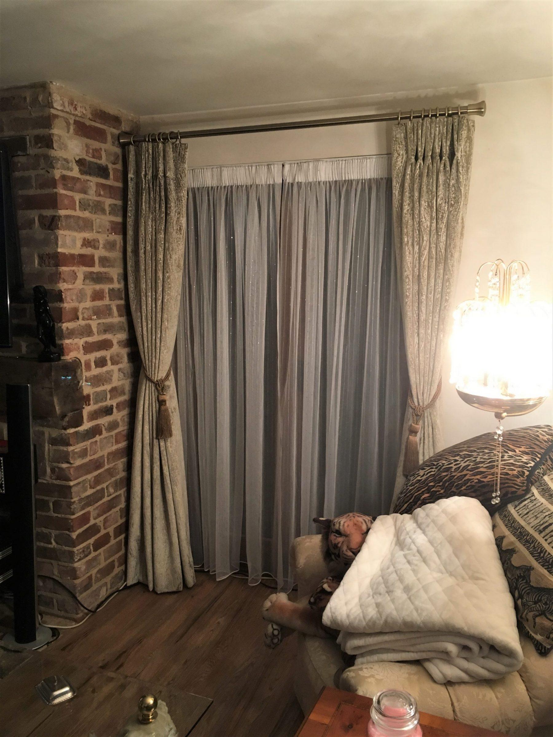 Ado White Voiles and PT Cosmopolitan Curtains