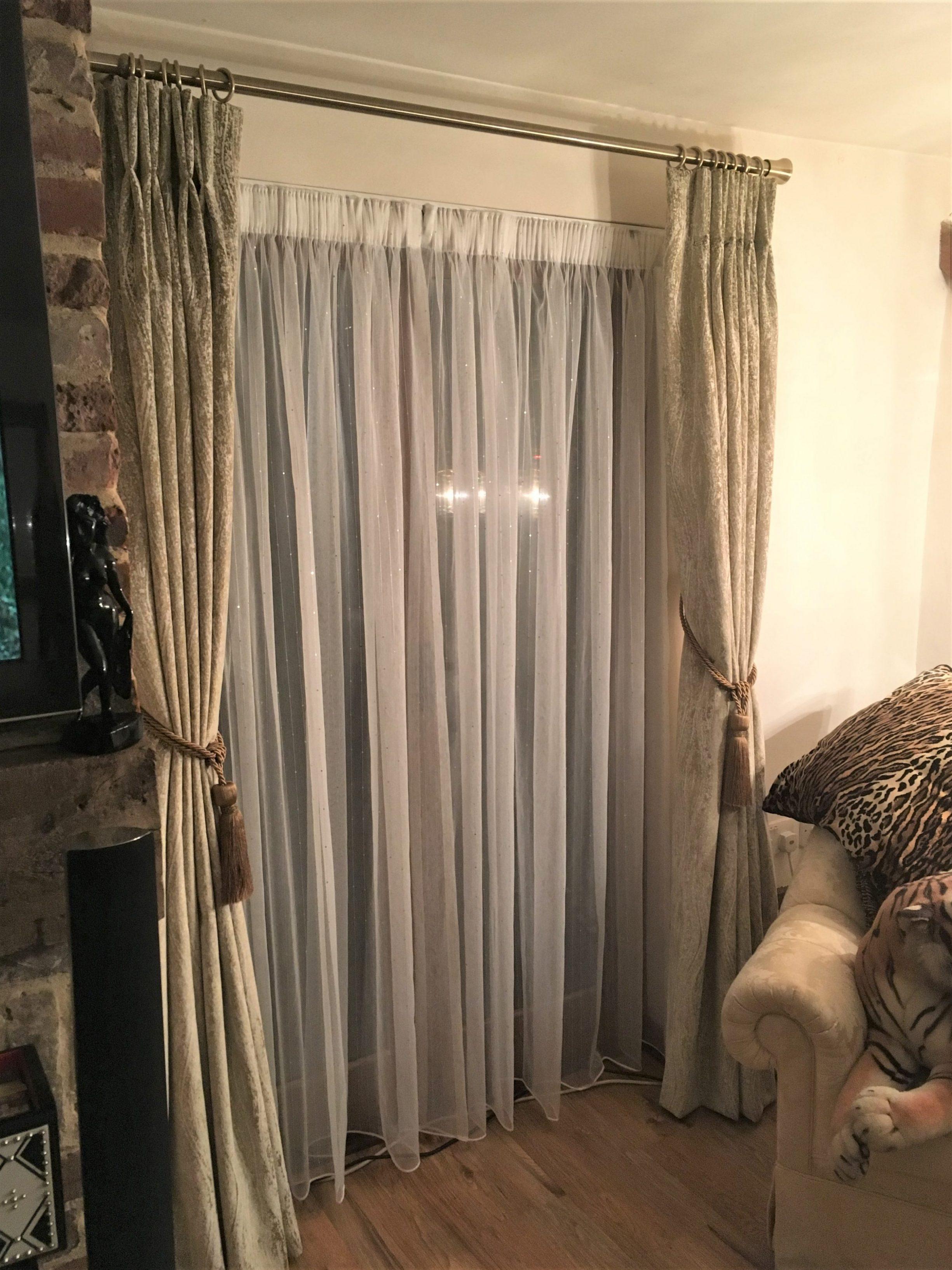 Velvet Curtains & Voiles