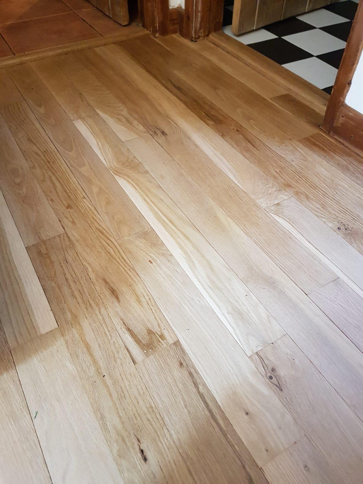 Sanded Floor Boards