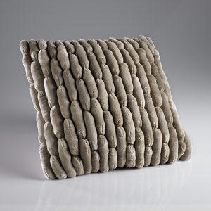 Cobble Taupe Cushion