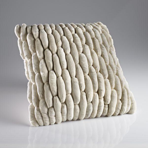 Cobble White Cushion