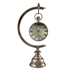 Eye of Time Clock Hanging on Stand
