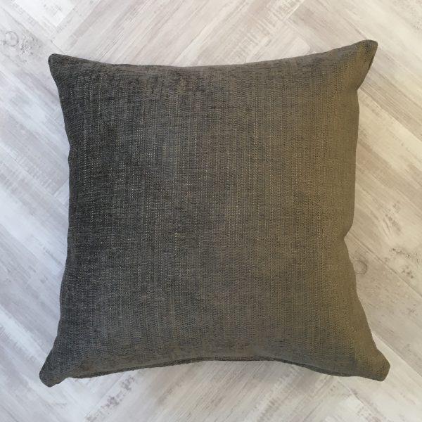 Grey/Beige Chenille Cushion