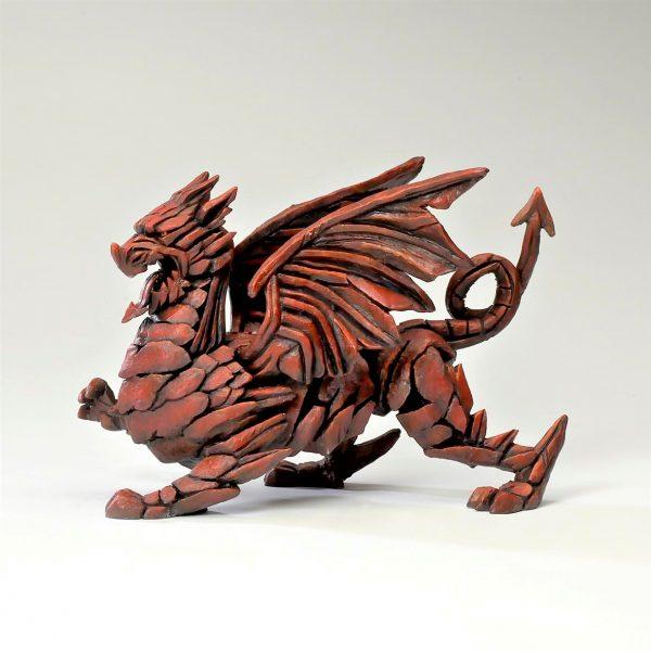 Welsh Red Dragon Sculpture