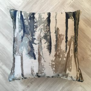 Harlequin Abstract Blue Cushion