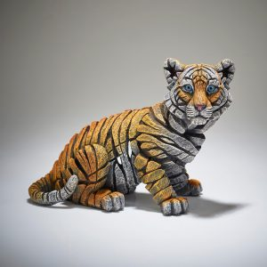 Orange Baby Tiger Figure
