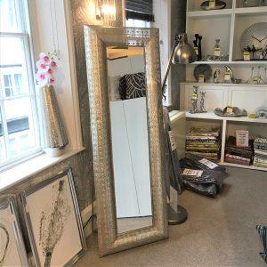 Morrocan Style Metal Framed Leaner Mirror