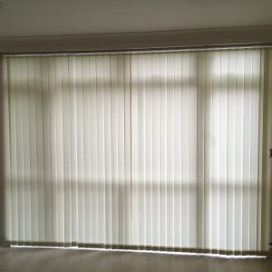 Cream Vertical Blind
