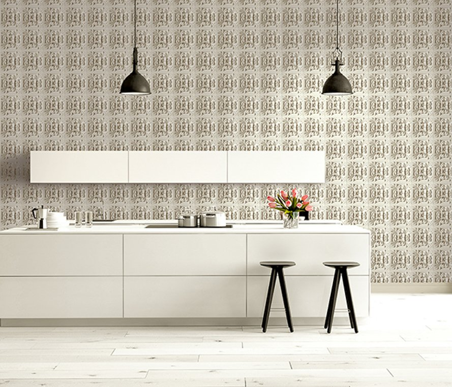 Today Interiors Wallpaper Victorian Tile