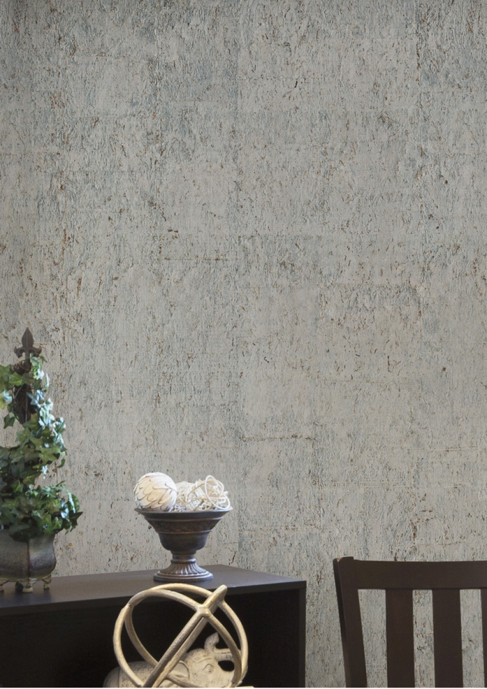 Today Interiors Wallcovering Silver Cork