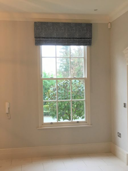 Ashley Wilde Cascade Roman Blind and Pelmet