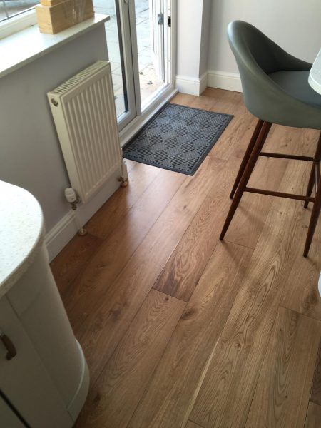 Engineered Oak Kitchen Flooring