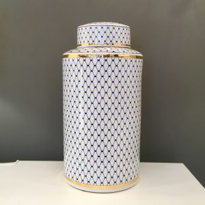 Blue & White Jar