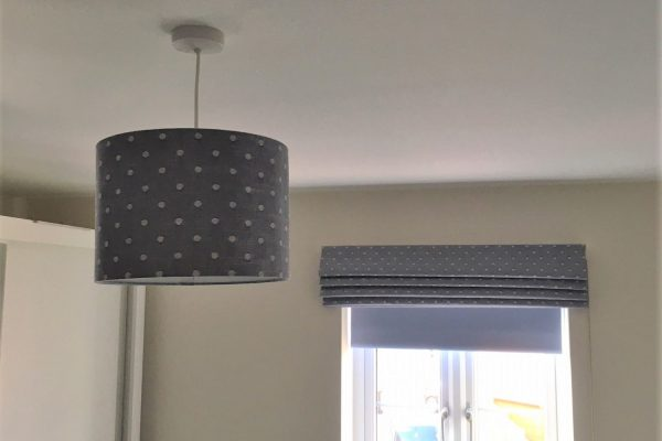 Matching Roman and Lamp Shade