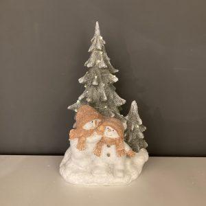 Snowman & Tree