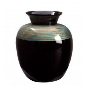 Black Bamboo Vase