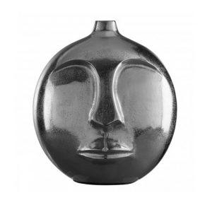 Viso Tall Metal Vase