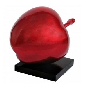 Giant Red Apple Sculpture