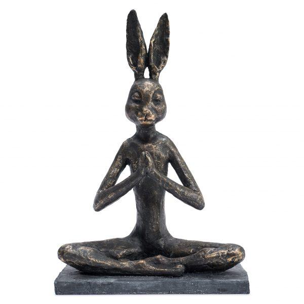 Zen Rabbit Praying